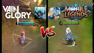 Mobile Legends VS Vainglory  |  MUST WATCH THIS !!!