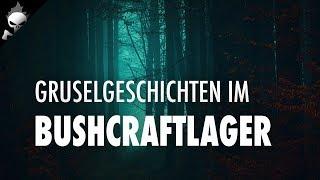 BUSHCRAFT LAGER 〽️ Lagerplatzscouting, Stuhlbau und Gruselgeschichten am Lagerfeuer
