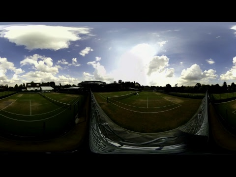 REPLAY Day 7: Watch practice in 360° from Wimbledon 2017