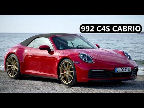 2020 Porsche 911 Carrera 4S Cabrio , Guard Red with Gold Wheels