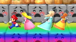 Mario Party 10 MiniGames - Mario Vs Rosalina Vs Peach Vs Daisy (Master Cpu)