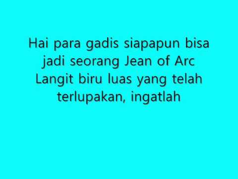 [Lyrics] JKT48 - Kagami no Naka no Jean D'Arc