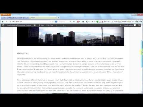 make-a-professional-website-#6---custom-header-in-wordpress
