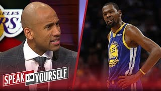 Dahntay Jones doesn't think KD's comments fueled LeBron's 42-point game | NBA | SPEAK FOR YOURSELF
