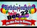 Birthday Journey Dec 22 New