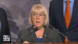 Watch Senate Minority Leader Schumer, Democrats speak on Senate GOP health care bill