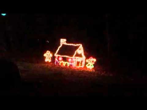 Holiday lights Sharon Woods, Sharonville Ohio
