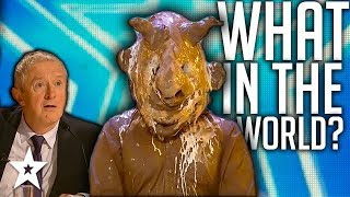 Weirdest Audition Ever on Ireland's Got Talent 2018 | Got talent Global