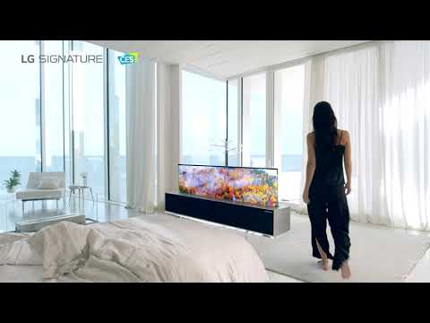 [LG at CES2021] LG SIGNATURE OLED R - Lifestyle