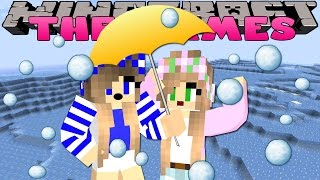 Minecraft-Little Carly-SURVIVING THE AVALANCHE!!
