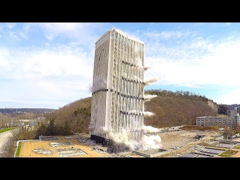 Capital Plaza Office Tower - Controlled Demolition, Inc.