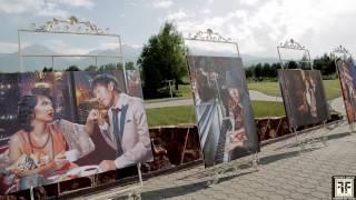 Шикарное оформление свадьбы цветами в Алматы. Гольф-Клуб Жайляу