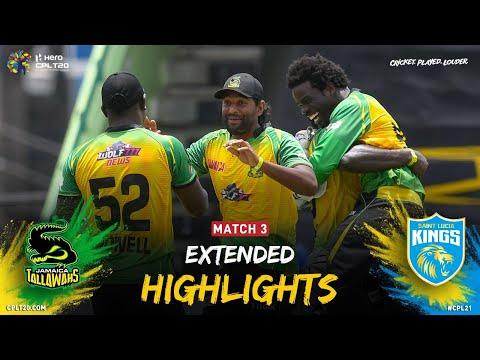 Extended Highlights | Jamaica Tallawahs vs Saint Lucia Kings | CPL 2021