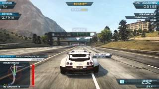 Need for Speed Most Wanted 2012 - Bugatti Veyron Super Sport Gameplay