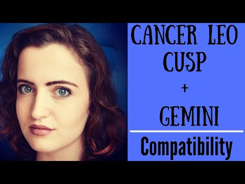 dating a gemini cancer cusp woman