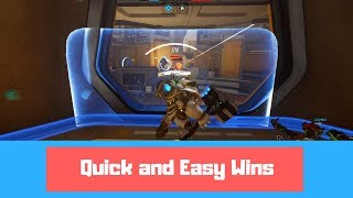 QUICK AND EASY WINS - Overwatch Ranked Season 11 Gameplay