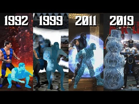 The Evolution Of Sub-Zero's Ice Clone! (1995-2019)