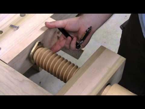 Shoulder Vise Install Video - Lake Erie Toolworks