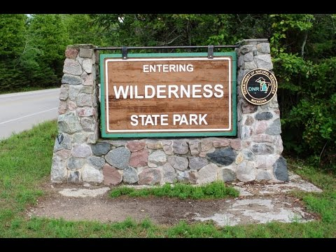 Camping at Wilderness State Park, Michigan