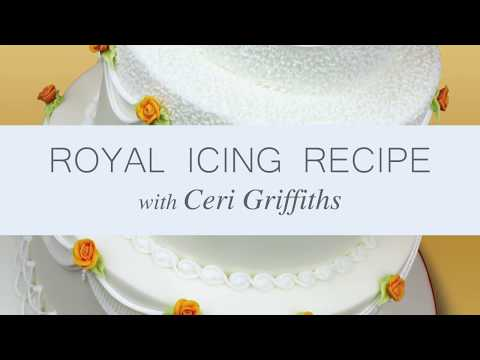 Make Royal Icing from Scratch | A Complete Tutorial with Ceri Griffiths