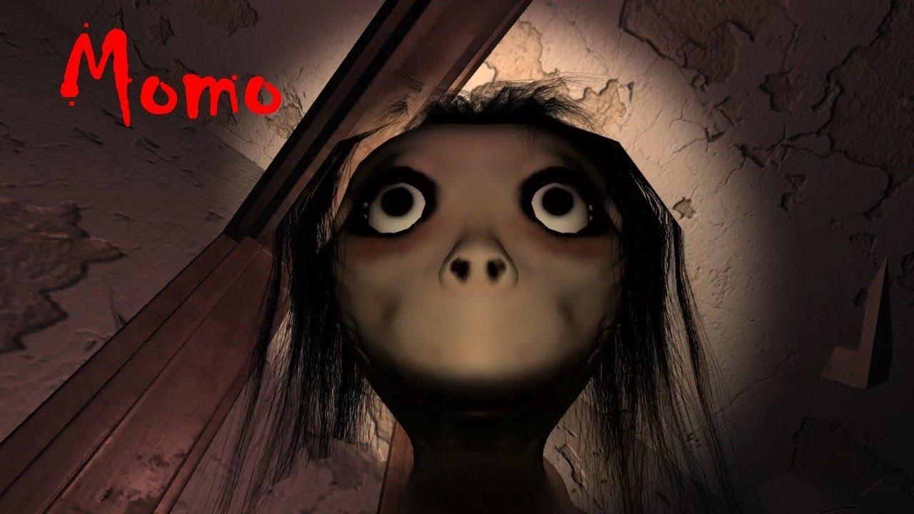 Momo Picture: Momo Full Playthrough Gameplay (indie Horror Game)