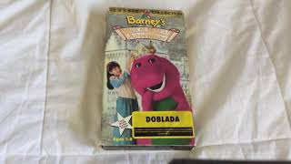 Opening To Barney's Magical Musical Adventure Spanish 1997 Rare VHS