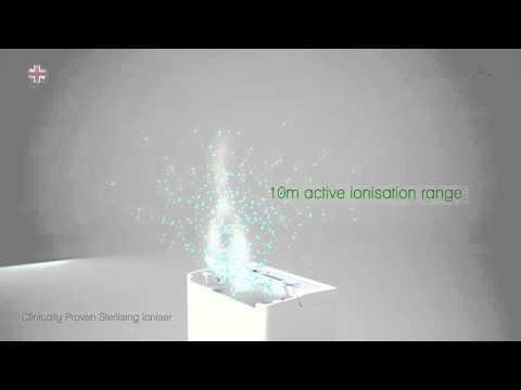 Meaco DD8L Zambezi Sterlising Ioniser Creating Healthy Air