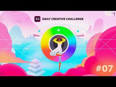 Adobe XD Daily Creative Challenge #07