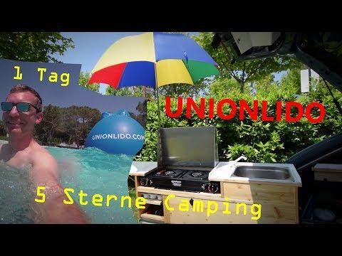 1 Tag auf ein 5***** Sterne Campingplatz - Unionlido Cavallino | Ben am Leben # VLOG 126