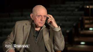 """John Astin on """"The Addams Family"""" getting canceled - TelevisionAcademy.com/Interviews"""