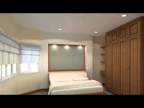 Bedroom Designs With Wardrobe indian bedroom designs wardrobe photos - youtube