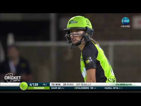 Harmanpreet Kaur stunning sixes on WBBL debut