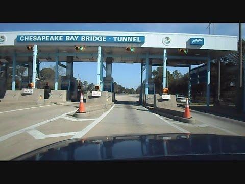 Chesapeake Bay Bridge Tunnel A Drive Over The Ocean