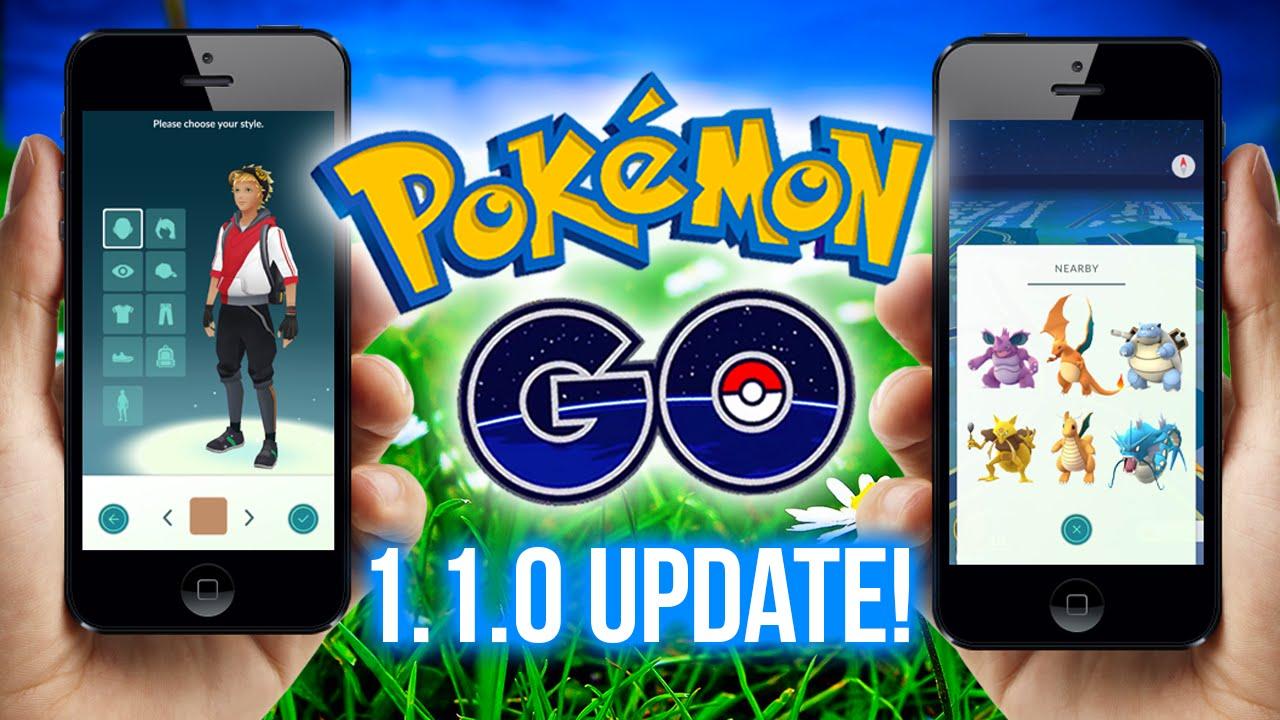 pokemon go the new update youtube