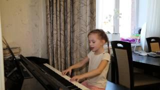 КОРИЧНЕВАЯ ПУГОВКА.... Виктория Викторовна 5 лет.
