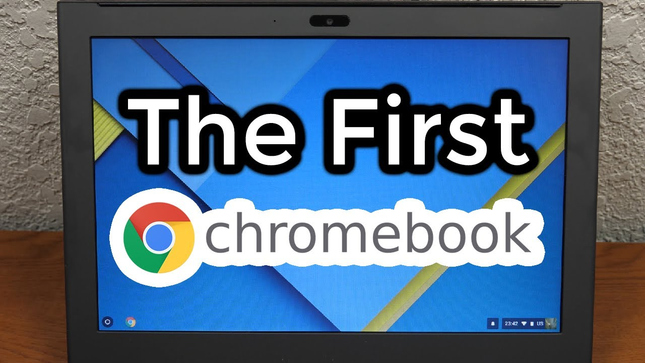 Google's CR-48 Prototype Chromebook (2010) - Time Travel