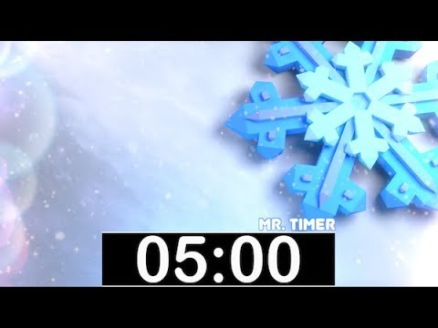 5 Minute Timer with Classical, Calm Music! Countdown Timer for Kids, Piano  Instrumental Music!