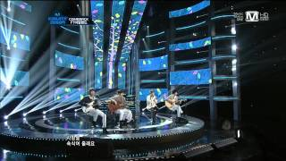120202 M!CountDown FT Island Comeback Stage - Hope You