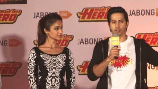 CAST OF MAIN TERA HERO UNVEIL THE JABONG COLLECTION