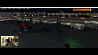 DAL545 | B748 | KSLC-KMIA | P3DV4.3 | VATSIM-LIVE ATC