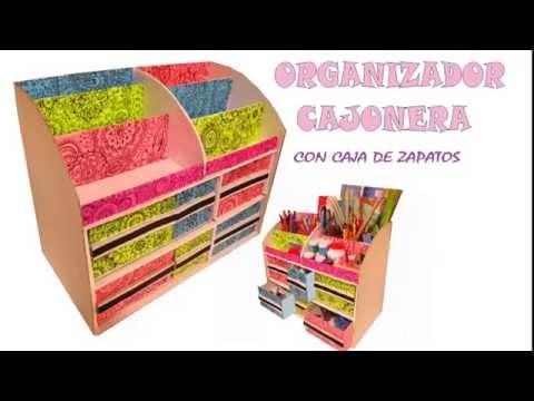 Download video organizador multiusos con caja de zapatos - Organizador de zapatos ...