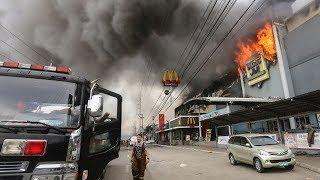 Philippines mall fire: Dozens feared dead in Davao blaze