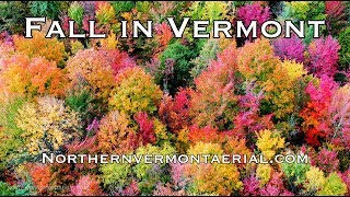 Fall in Vermont - Breathtaking 4K Aerial Cinematography by northernvermontaerial.com