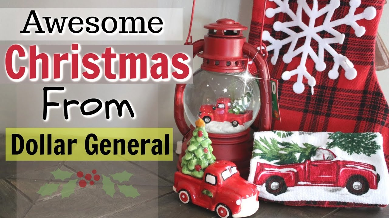Is Dollar General Open On Christmas.Dollar General Christmas Decor Haul 2018 New Christmas Items Shop With Me Dollar Store