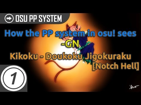 How the PP system in osu! sees -GN's FC on [Notch Hell]