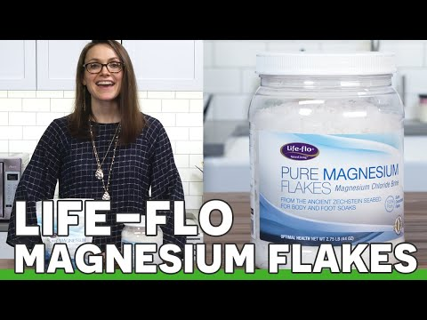 Life Flo Pure Magnesium Flakes Review