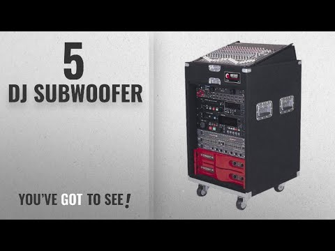 Top 10 Dj Subwoofer [2018]: Odyssey CXP1114W Pro Combo Carpeted Rack With Recessed Hardware And