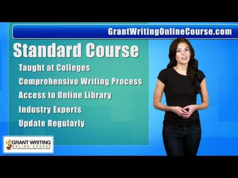 Grant Writing Online Course | Grant Writing Classes | Online Grant Writing Course