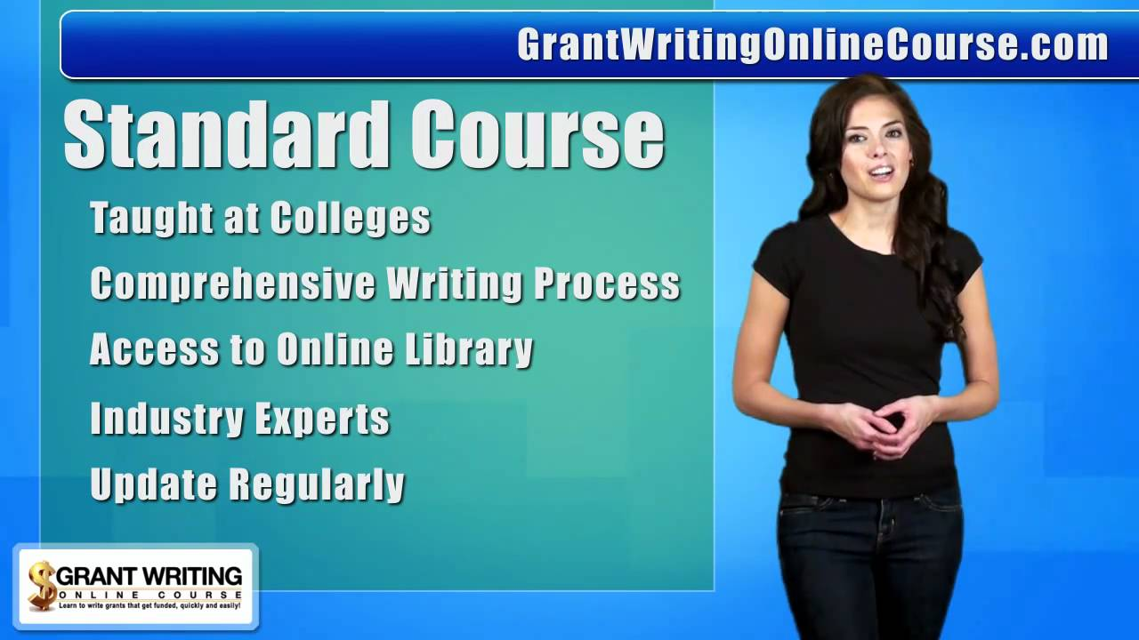online grant writing classes
