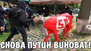 Националисты громят офис Балашова